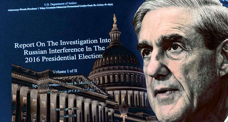 Robert Mueller. (Photo illustration: Yahoo News; photos: AP)