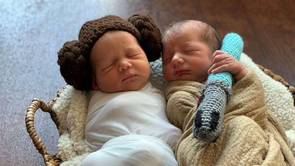 PHOTO: Babies at AdventHealth for Women in Orlando, Florida, are getting into character in celebration of 'Star Wars: The Rise of Skywalker.' (AdventHealth for Women - Orlando)