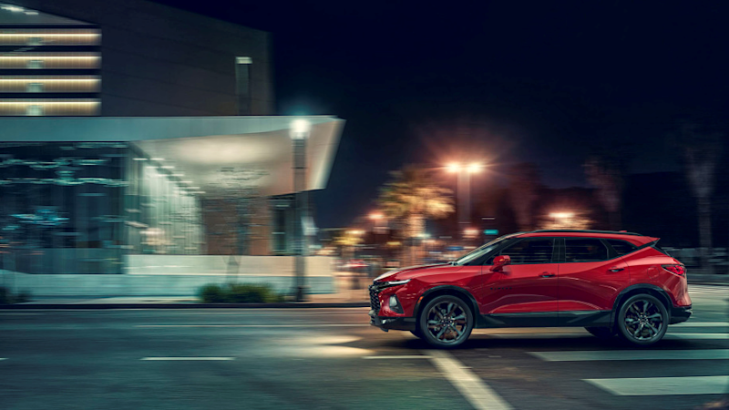 All-new 2019 Chevrolet Blazer