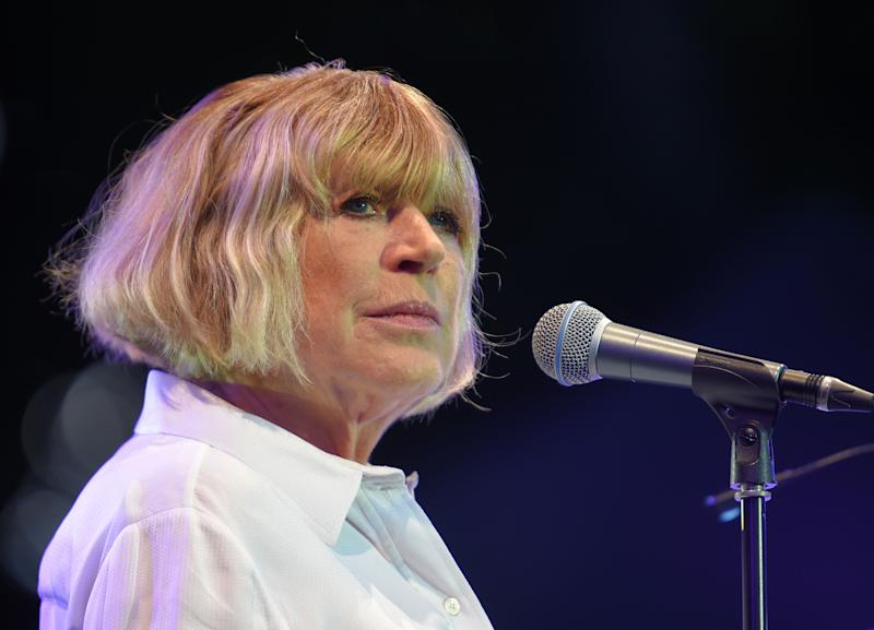 English singer Marianne Faithfull has been hospitalized with coronavirus. (Photo: GUILLAUME SOUVANT/AFP via Getty Images)