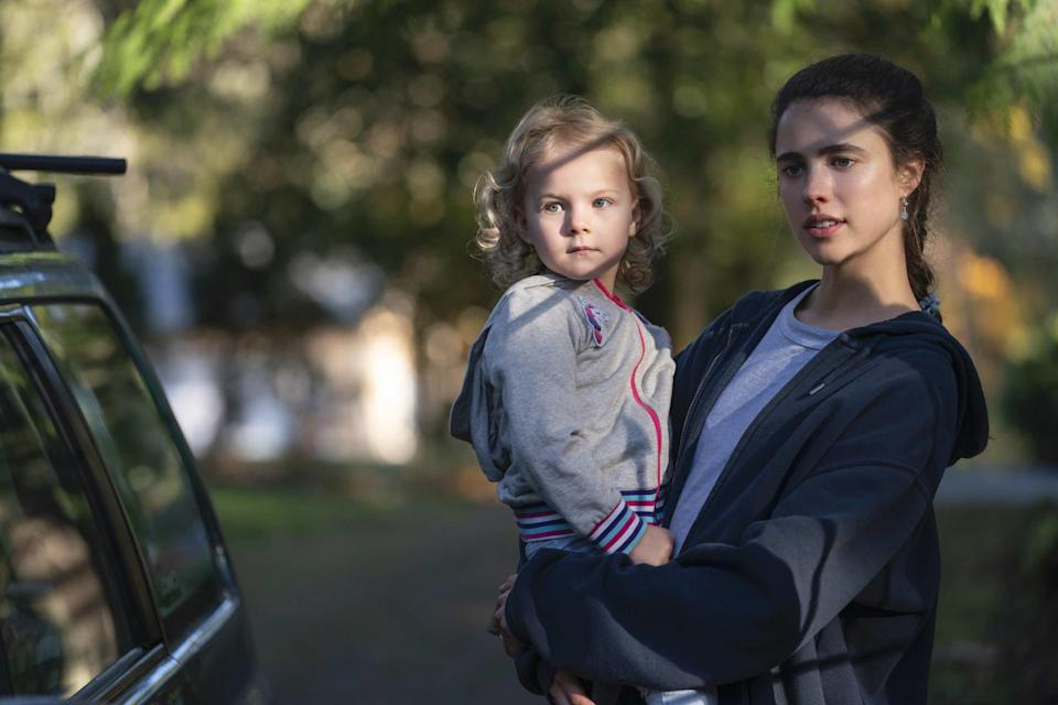 Inspired by the New York Times bestselling memoir, Maid: Hard Work, Low Pay, and a Mother's Will to Survive, the series follows Alex, a single mom who turns to housecleaning in order to try and make ends meet. After escaping an abusive relationship and overcoming homelessness, all Alex wants to do is create a better life for her daughter. Also, Margaret Qualley will be acting alongside her mother, Andie MacDowell.Starring:Margaret Qualley, Nick Robinson, Anika Noni Rose, Andie MacDowell, Tracy Vilar, Billy Burke, Rylea Nevaeh Whittet, Raymond Ablack, BJ Harrison, Xavier de Guzman, Aimee Carrero, Toby Levins, and moreWhen it premieres:Oct. 1 on NetflixWatch the trailer here