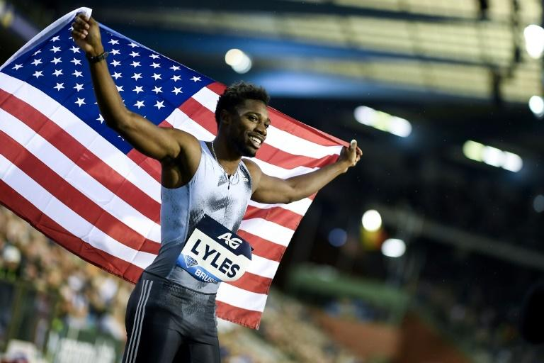 Noah Lyles qualified automatically for the US team at the World Championships after winning the Diamond League 200m title (AFP Photo/JASPER JACOBS)