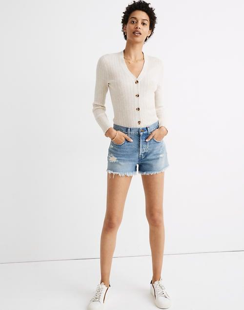 <p>You can't go wrong with these classic <span>Madewell Relaxed Denim Shorts</span> ($72).</p>