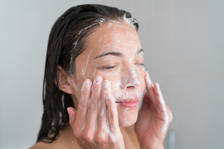 face wash, face wash types, which face wash is best for me, face wash oily skin type, face wash dry skin type, gel face wash, indian express, skincare, skincare tips
