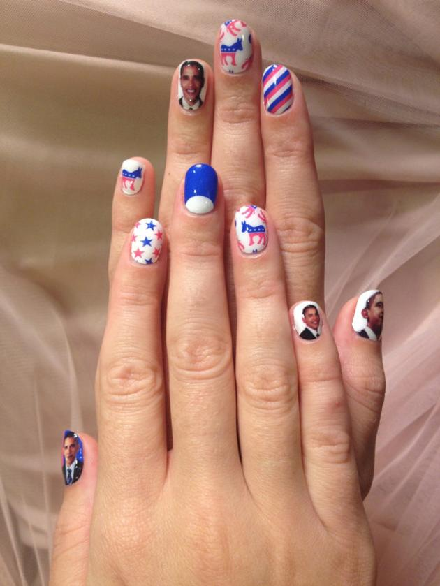Katy Perry elections fingernails (via @katyperry)