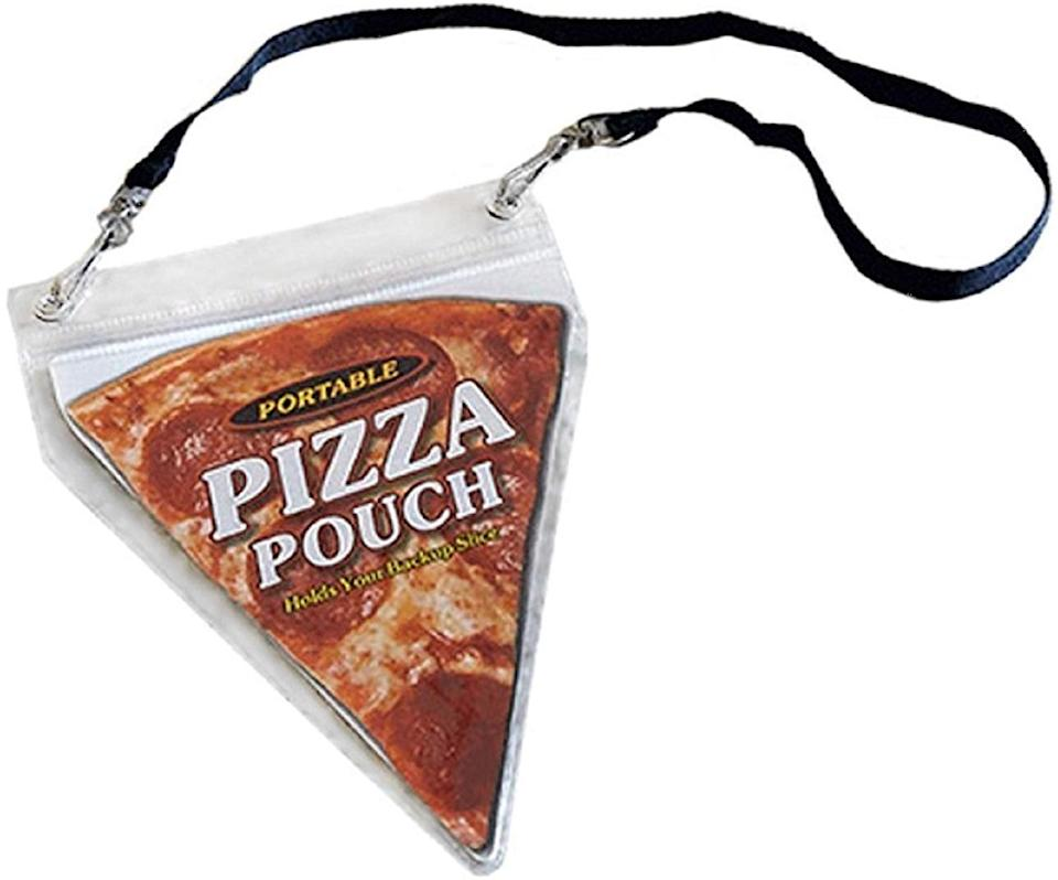 <p>Make any pizza portable with this <span>Portable Pizza Pouch</span> ($9). It's a great gag gift that's actually useful!</p>