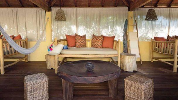 PHOTO: Poolside cabanas have been turned into work and learning stations at the Four Seasons Punta Mita. (Four Seasons Punta Mita)