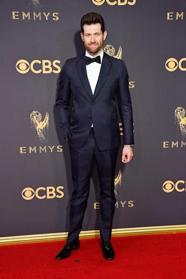<p>Billy Eichner attends the 69th Primetime Emmy Awards at the Microsoft Theater on Sept. 17, 2017, in Los Angeles.<br> (Photo: Getty Images) </p>