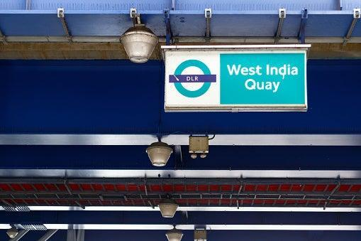 West India Quay station was closed after a stabbing. (istock)