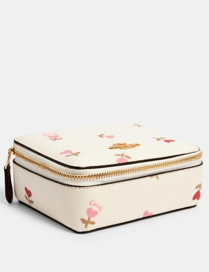 Coach Large Jewelry Box With Heart Floral Print - Coach Outlet, $53 (originally $150)