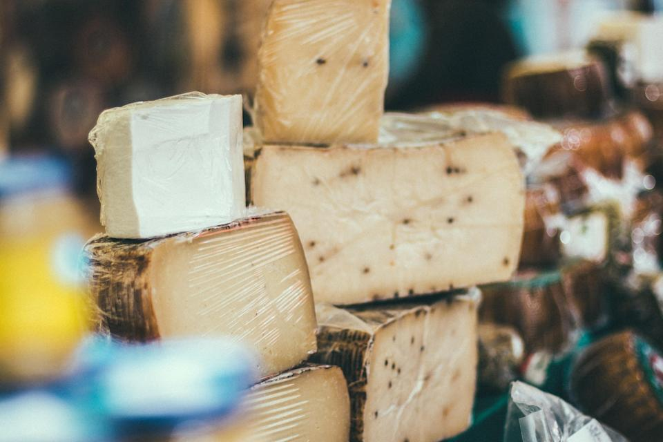 Hard cheeses are much sturdier than softer ones [Photo: Pexels]