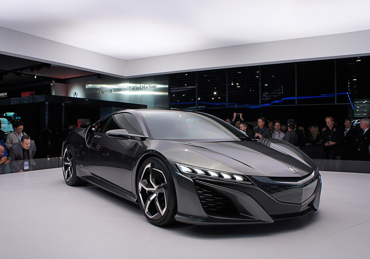 Updated Acura NSX Concept