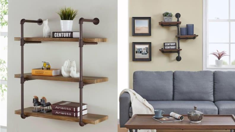 Sometimes a touch of industrial can help make a farmhouse or modern aesthetic look just right.