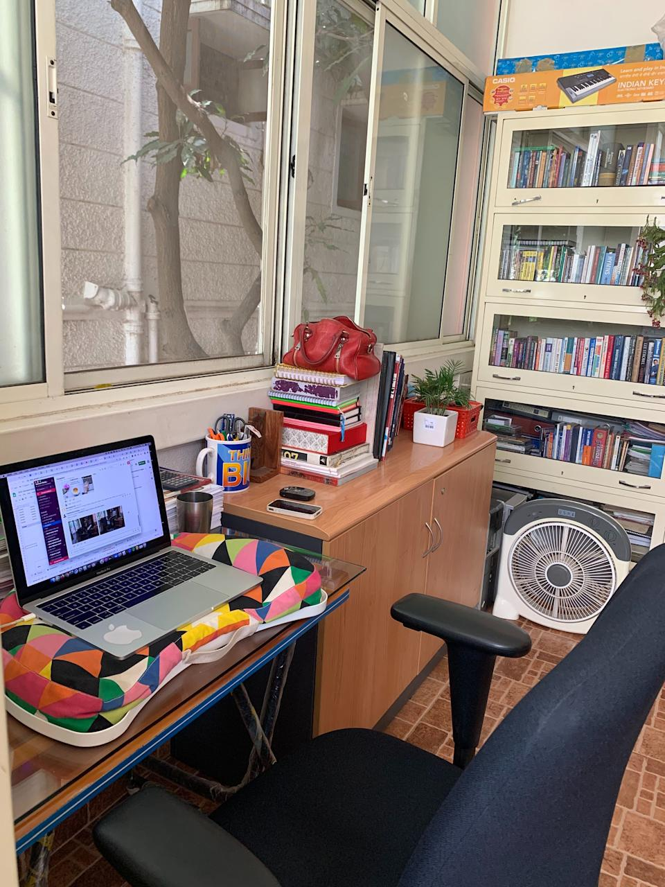 When you'd rather work from home with or without lockdown <em>Photo credit: Jessica Leen Prabhakar</em>