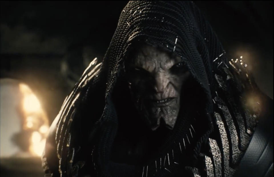 Darkseid revealed in the first trailer for Zack Snyder's director's cut of Justice League for HBO Max