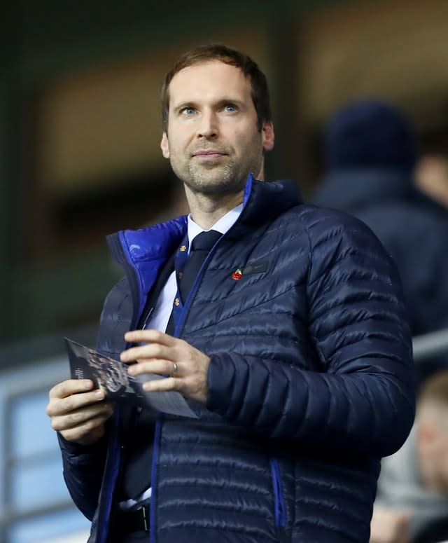 Petr Cech, pictured, now holds a key role in Chelsea's off-field staff (Martin Rickett/PA)