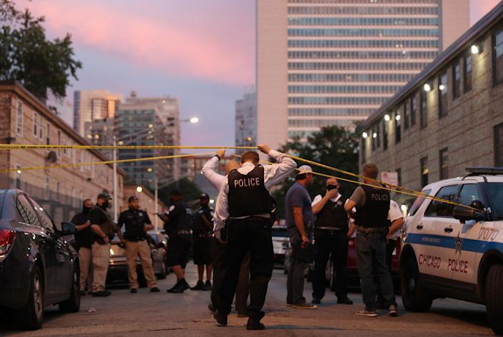 An unrelenting wave of deadly shootings has hit Chicago this summer amid the pandemic