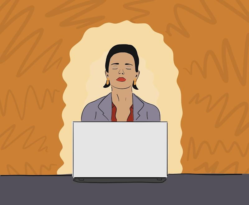 Watch one of these meditation videos at your desk to de-stress in 10 minutes or less
