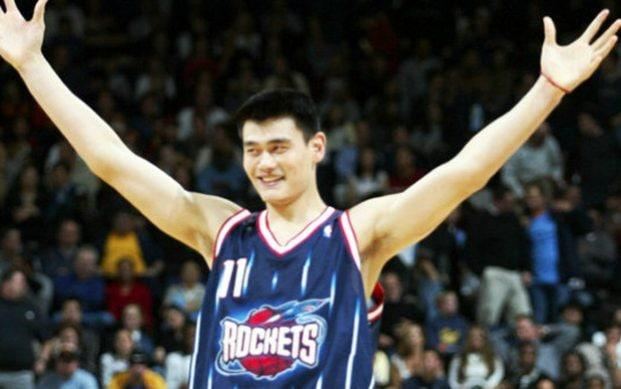 Yao Ming, president of the Chinese Basketball Association, played for the Houston Rockets from 2002 to 2011 - making the team one of the most popular in China