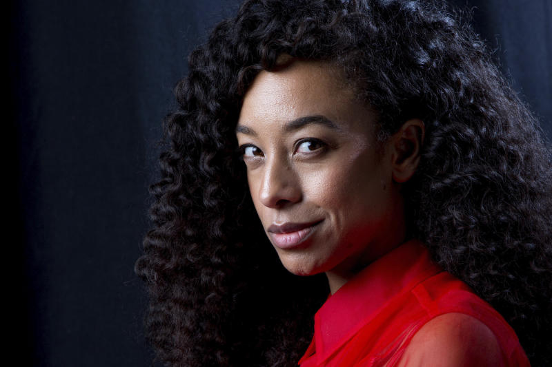 FILE - In this April 18, 2016, file photo, singer Corinne Bailey Rae poses for a portrait in New York. Common and Rae are set to make their debut at the Playboy Jazz Festival at Los Angeles' Hollywood Bowl June 10-11, 2017. (Photo by Amy Sussman/Invision/AP, File)