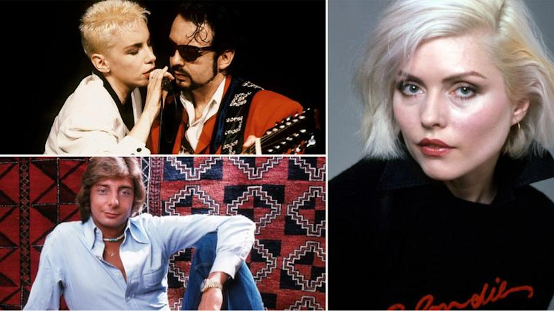 The Eurythmics, Blondie y Barry Manilow