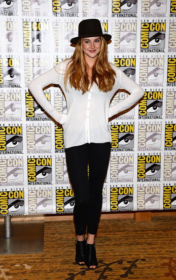 """""""Enders Game"""" And """"Divergent"""" Press Line - Arrivals - Comic-Con International 2013"""