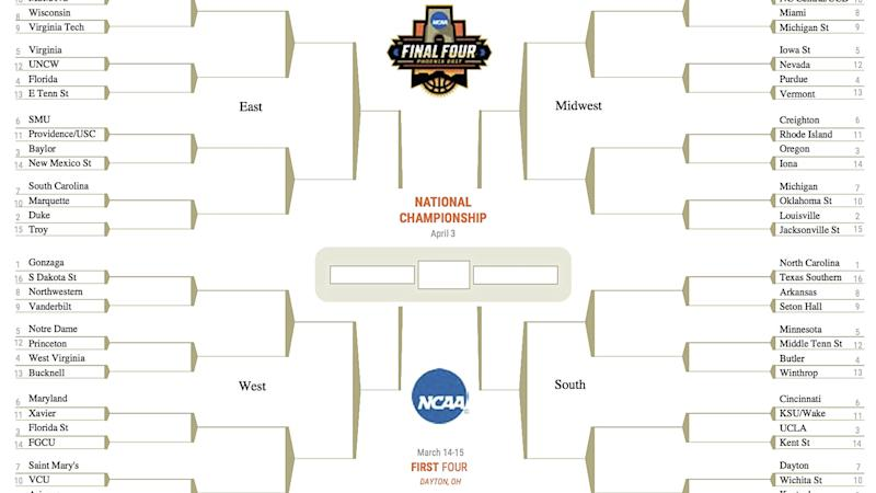Ncaa brackets 2018 win money