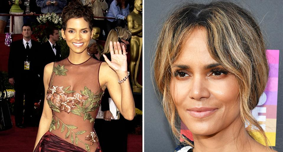Halle Berry pictured at the 74th Annual Academy Awards in 2002. [Photo: Getty]