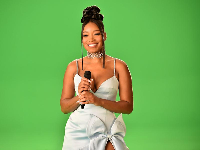 NEW YORK, NEW YORK - AUGUST 30: Keke Palmer attends the 2020 MTV Video Music Awards, broadcast on Sunday, August 30, 2020 in New York City. (Photo by Jeff Kravitz/MTV VMAs 2020/Getty Images for MTV)