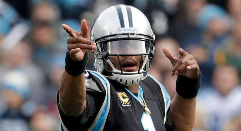 ae8eaffc5 Ron Rivera relieved after news of Cam Newton s procedure