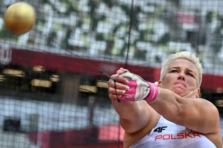 Poland's Anita Wlodarczyk is looking for her third discus title