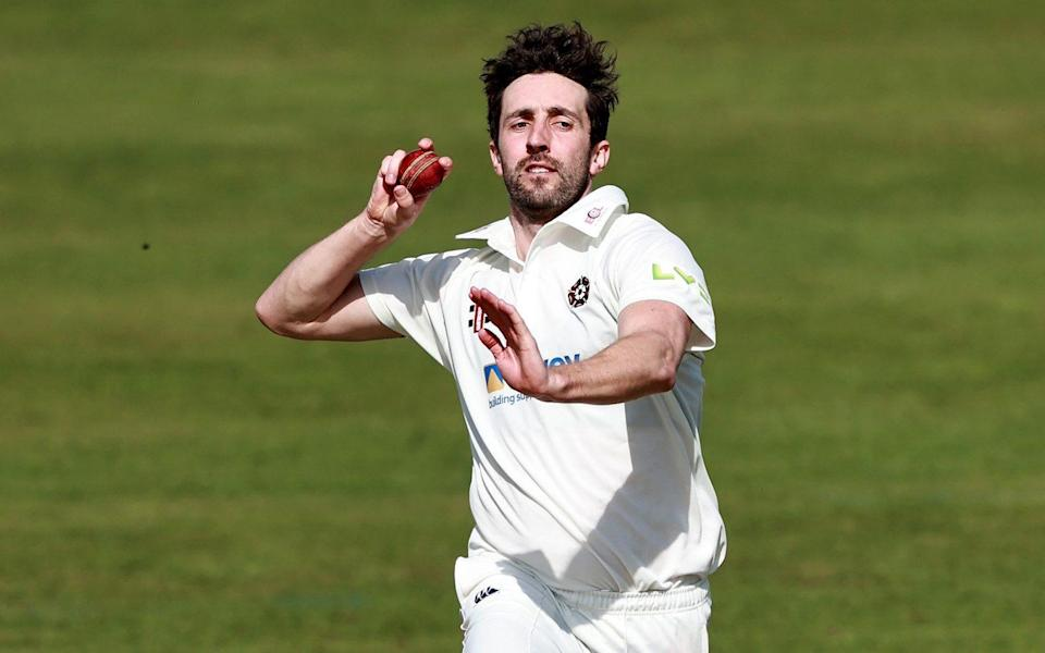 Ben Sanderson of Northamptonshire bowls during the inter squad pre season warm up match at the County Ground —County Championship 2021 predictions and your club-by-club guide - David Rogers/GETTY IMAGES