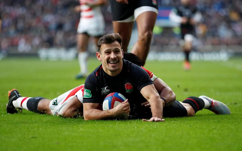 Fast start: Danny Care put England on the scoreboard inside four minutes (Action Images via Reuters)