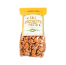 <p>Although this pasta isn't made with pumpkin ingredients (it gets its orange hue from paprika), it's <strong>shaped like mini pumpkins and we think it's simply the cutest thing ever. </strong>The shape also doubles as an except sauce holder.</p>