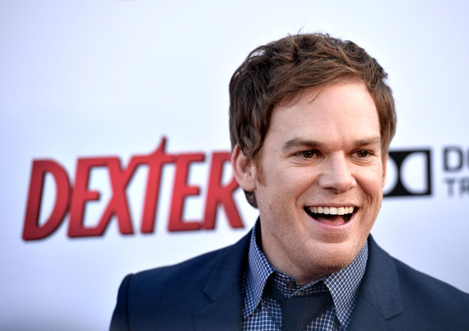 "HOLLYWOOD, CA - JUNE 15:  Actor Michael C. Hall arrives at the Showtime Celebrates 8 Seasons Of ""Dexter"" at Milk Studios on June 15, 2013 in Hollywood, California.  (Photo by Frazer Harrison/Getty Images)"
