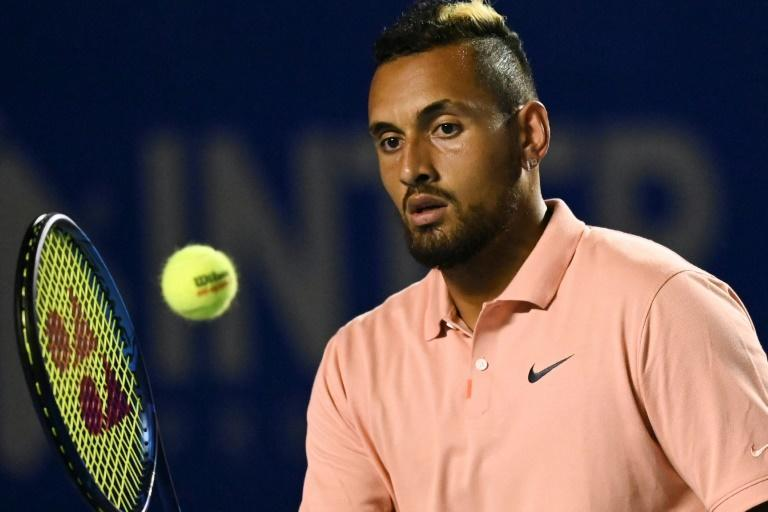 Australia's Nick Kyrgios has pulled out of the US Open later this month (AFP Photo/PEDRO PARDO)
