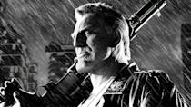 <p>Mickey Rourke plays this tough guy with a face that looks like it's been tenderized like a steak. In Robert Rodriguez's hyper-stylized noir, he goes after, and brutally kills, a cabal of cannibal priests who are responsible for the death of his prostitute girlfriend. After he confesses to the murders, he's sentenced to death himself and takes multiple shocks on the electric chair before finally going down for the long goodnight.</p>