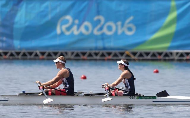 Great Britain's Lauren Rowles and Laurence Whiteley won gold in Rio five years ago