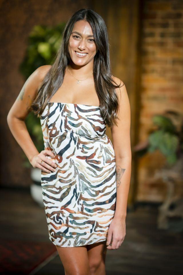Connie was a brunette during her time on MAFS. Photo: Channel Nine.