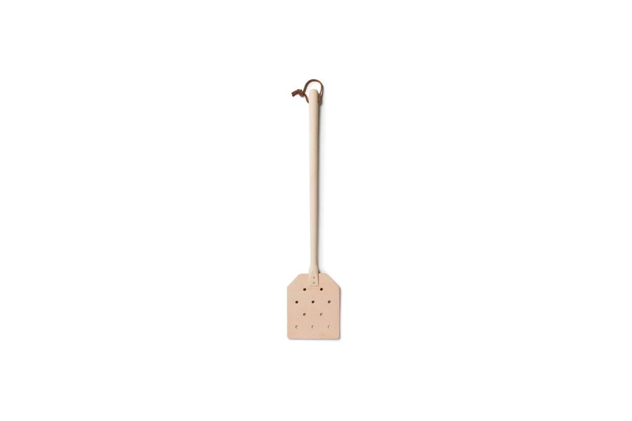 "$20, Old Faithful Shop. <a href=""https://www.oldfaithfulshop.com/collections/utility/products/leather-fly-swatter"">Get it now!</a>"