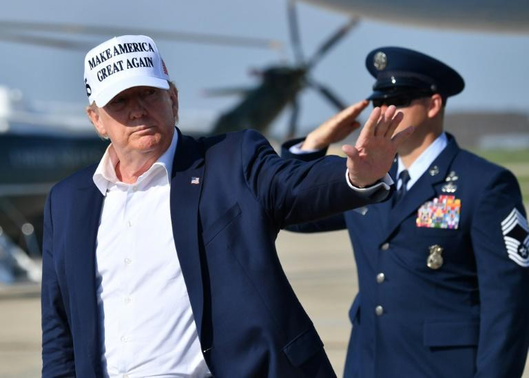 US President Donald Trump has struggled on numerous fronts, facing mounting criticism over his handling of the coronavirus outbreak and the resulting economic pain, and failing to land punches on his opponent, Joe Biden