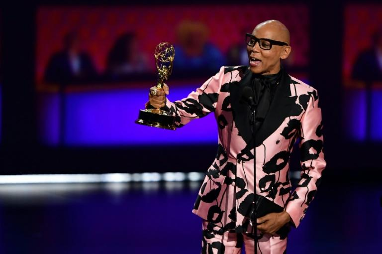 US actor and singer RuPaul says he has found global fame a bit of a letdown (AFP Photo/Frederic J. BROWN)