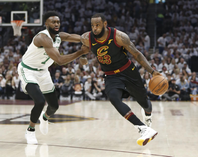 LeBron leads Cavs in 87-79 win over Celtics, reach NBA Finals