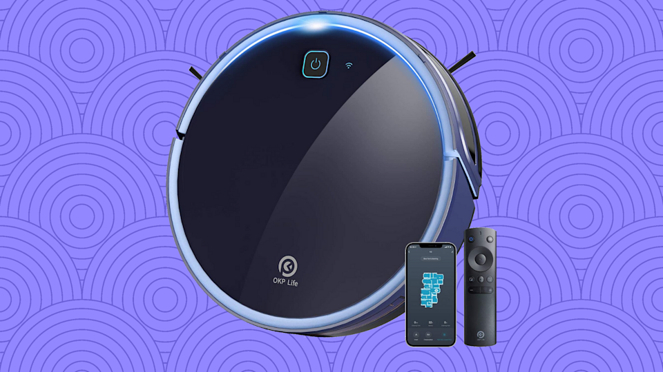 This robot vacuum is Amazon's best-kept secret. Oops! The cats out of the bag! Now let's get to clean! (Photo: Amazon)