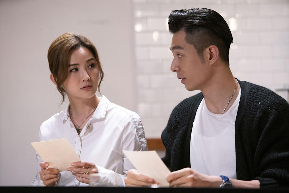 Charlene Choi and Chau Pak-ho reprise their roles as Eva and Adam in 77 Heartwarmings. (Photo: Golden Village Pictures)