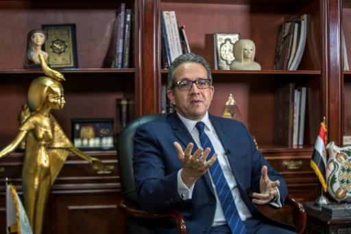 Egyptian Minister of Tourism and Antiques Khaled al-Anani says hotels have ramped up hygiene, archaeological sites have been sanitised and beaches cleaned up