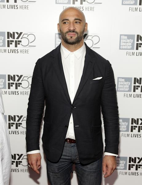 "Yann Demange attends a screening of ""Maps To The Stars"" at the New York Film Festival on Saturday, Sept. 27, 2014 in New York. (Photo by Andy Kropa/Invision/AP)"