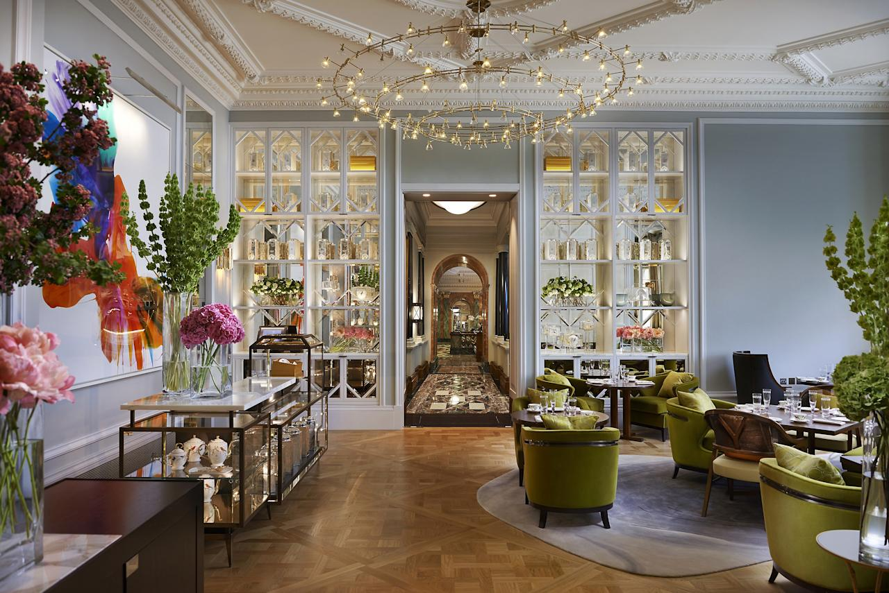 """<p><strong>Why did this hotel catch your attention? What's the vibe?</strong><br> Perched on the edge of <a href=""""https://www.cntraveler.com/activities/london/hyde-park?mbid=synd_yahoo_rss"""">Hyde Park</a>, the Mandarin Oriental, a turreted, red-brick Edwardian confection, is the closest you'll get to staying in an actual palace.</p> <p><strong>What's the backstory?</strong><br> The hotel closed in 2016 to undergo a major spruce-up, but a huge roof fire in 2018 set everything back. It finally opened in April 2019 after a rumored $123 million makeover. Today, the lobby has lots of glass to reflect the light and serene photographs by Mary McCartney; feather motifs and greenery prevail throughout. The history of the building—and roll call of its famous past and present guests—could fill a book. There's a dedicated royal entrance originally built for Queen Victoria; Winston Churchill used to check in regularly; and Queen Elizabeth and Princess Margaret took dance lessons here.</p> <p><strong>Tell us all about the accommodations. Any tips on what to book?</strong><br> Rooms are as grand as they were pre-renovation, but they feel less serious. The heavily patterned fabrics have been replaced by wooden floors, soft, earthy tones, and Art Deco flourishes. Bathrooms are slathered with white marble, and the luxury of the heated toilet seats is not to be underestimated. Views of Hyde Park cost extra, of course.</p> <p><strong>Is there a charge for Wi-Fi, and how is the quality?</strong><br> It's free and fast.</p> <p><strong>Drinking and dining—what are we looking at?</strong><br> The restaurant and bar are destinations in their own right. The former is Heston Blumenthal's only London offering, and his signature creamy, mandarin-shaped liver parfait is still one of the city's most lusted-after dishes. The French chef Daniel Boulud is the brains behind the more informal Bar Boulud, which does perfect bistro classics like onion soup and steak frites.</p> <p><strong>What type of tr"""