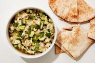 """<a href=""""https://www.bonappetit.com/recipe/roasted-eggplant-and-pickle-dip?mbid=synd_yahoo_rss"""" rel=""""nofollow noopener"""" target=""""_blank"""" data-ylk=""""slk:See recipe."""" class=""""link rapid-noclick-resp"""">See recipe.</a>"""