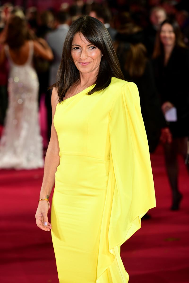Davina McCall arriving for the ITV Palooza held at the Royal Festival Hall, Southbank Centre, London.